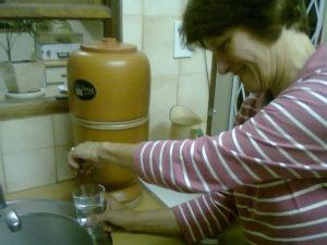Víztisztító szerelése